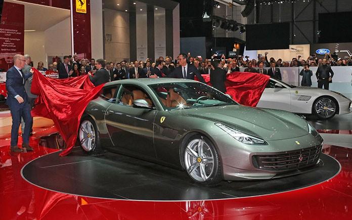 Ferrari GTC4 Lusso at Geneva Motor Show 1