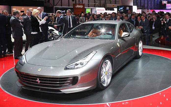 Ferrari GTC4 Lusso at Geneva Motor Show 2