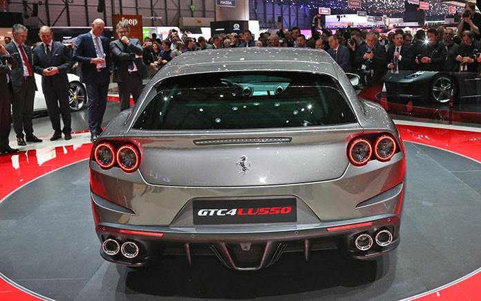 Ferrari GTC4 Lusso at Geneva Motor Show 4