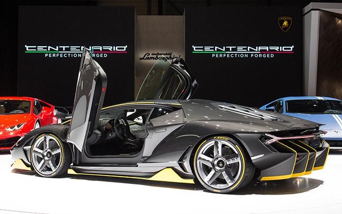 Lamborghini Centenario at 2016 International Geneva Motor Show 3