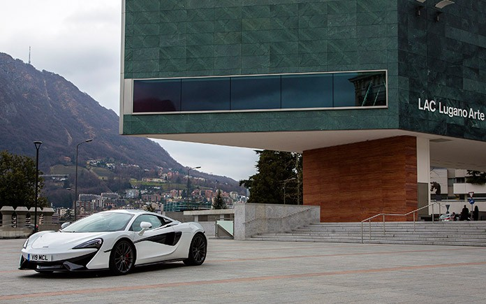 McLaren Lugano showroom 1