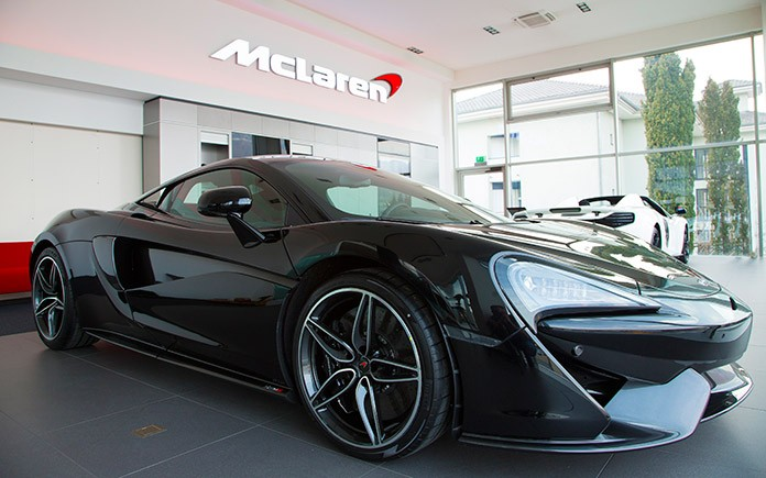 McLaren Lugano showroom 3
