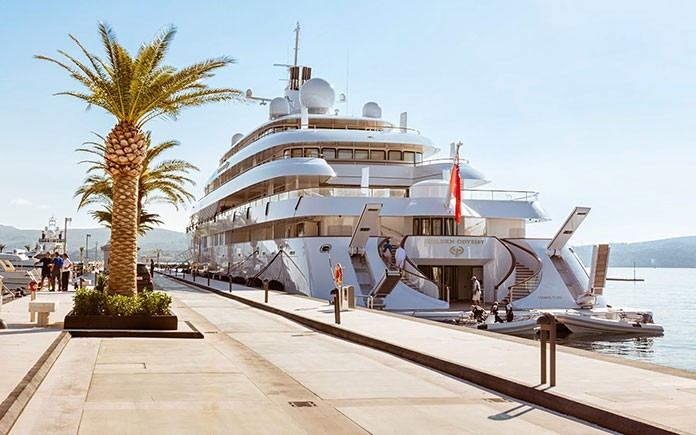 Porto Montenegro added a 250m berth 1
