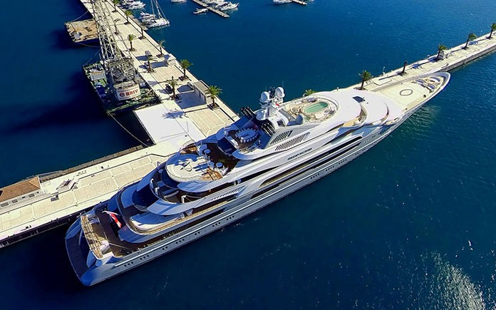 Porto Montenegro added a 250m berth 4