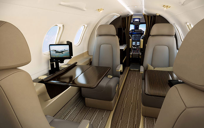 embraer-phenom-300-cabin