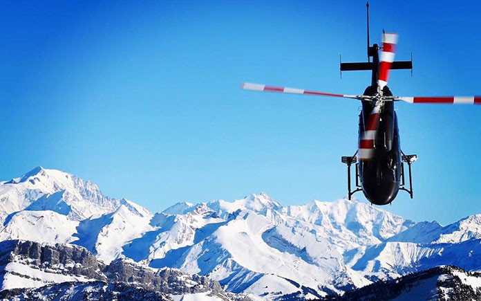 heli-and-snow