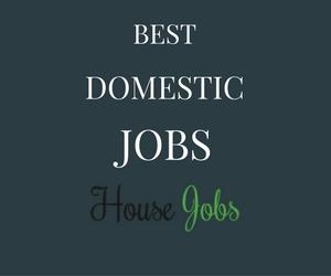 domestic jobs